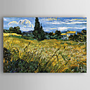 cheap Abstract Paintings-Oil Painting Hand Painted - Landscape New Arrival Canvas