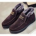 tanie Adidasy męskie-Męskie Komfortowe buty Materiał Jesień / Zima Adidasy Czarny / Kawowy / Niebieski
