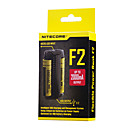 preiswerte Taschenlampen-Nitecore F2 Akku-Ladegerät für Lithium-Batterie 10440,14500,16340 (RCR123),17335,17500,17670,18490,18650,26650
