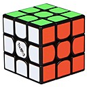 cheap Rubik's Cubes-Rubik's Cube QI YI 3 3*3*3 Smooth Speed Cube Magic Cube Educational Toy Puzzle Cube Smooth Sticker Gift Girls'