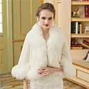 cheap Wedding Wraps-Faux Fur Wedding / Party / Evening Women's Wrap With Fur Coats / Jackets