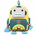 tanie Preschool Backpacks-Torby Brezentowy Torebki dziecięce Zamek na Casual Niebieski / Czerwony / Yellow