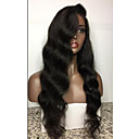 cheap Human Hair Wigs-Human Hair Full Lace Wig Brazilian Hair Body Wave Wig Layered Haircut / With Baby Hair 130% Natural Hairline / For Black Women / 100% Virgin Women's Short / Medium Length / Long Human Hair Lace Wig
