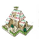 tanie Modele i zestawy modeli-Zabawki 3D / Puzzle / Model Bina Kitleri Domy / Moda / Dom Dzieci / Nowy design / Gorąca wyprzedaż Drewno 1 pcs Klasyczny / Nowoczesny / Moda Dla dzieci Prezent