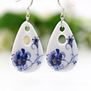 cheap Earrings-Women's Drop Earrings / Hoop Earrings - Drop Blue For Party / Going out
