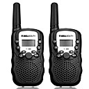 abordables Walkie-Talkies-T-388 Walkie Talkie  Portátil Analógico VOX CTCSS/CDCSS 3KM-5KM 3KM-5KM 22CH 0.5W Walkie talkie Radio de dos vías