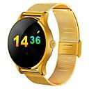 olcso Okosórák-Intelligens Watch YY-K88H mert Android iOS Bluetooth Sportok Vízálló Szívritmus monitorizálás Érintőképernyő Elégetett kalória Stopper Lépésszámláló Testmozgásfigyelő Alvás nyomkövető / Hol a mobilom