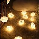 preiswerte Küchengeräte-3M Leuchtgirlanden 20 LEDs Warmes Weiß <5 V 1pc / IP44