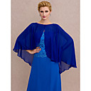 cheap Abstract Paintings-Chiffon Wedding / Party / Evening Women's Wrap With Buttons Capes