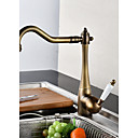 cheap Shower Faucets-Kitchen faucet - Modern Style Bronze Standard Spout Centerset