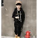 baratos Braceletes-Infantil Para Meninos Sólido Algodão Conjunto Preto 140