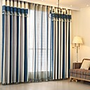 cheap Openers-Curtains Drapes Bedroom Stripe Yarn Dyed