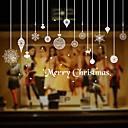 preiswerte Weihnachtsschmuck-Dekorative Wand Sticker - Flugzeug-Wand Sticker Formen / Weihnachten / Cartoon Design Wohnzimmer / Drinnen / Shops / Cafés