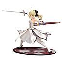 billige Anime action-figurer-Anime Actionfigurer Inspireret af Fate / Stay Night Saber PVC 23 cm CM Model Legetøj Dukke Legetøj