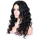 povoljno Perike s ljudskom kosom-Remy kosa 360 Frontalni Perika stil Brazilska kosa Wavy Perika 150% 180% Gustoća kose s dječjom kosom Prirodna linija za kosu Za crnkinje 100% Djevica Žene Kratko Srednja dužina Dug Perike s ljudskom