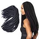 olcso Hajfonat-Hajfonás afro / Havanna Twist Zsinór 100% kanekalon haj / Kanekalon 1db Hair Zsinór Közepes / Hosszú Krokett raszta