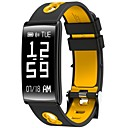 olcso Okosórák-Intelligens karkötő mert iOS / Android Vérnyomásmérés / Elégetett kalória / Edzésnapló / Távolságmérés / Lépésszámlálók Lépésszámláló / Hívás emlékeztető / Alvás nyomkövető / ülő Emlékeztető / Hol a