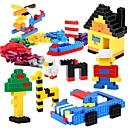 baratos Blocos de Montar-Blocos de Construir 500 pcs Novo Design Faça Você Mesmo Clássico Chique & Moderno Alta qualidade Para Meninos Para Meninas Brinquedos Dom