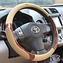 cheap Steering Wheel Covers-Steering Wheel Covers Rubber 38cm Black / Beige / Gray For universal
