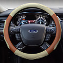 cheap Steering Wheel Covers-Steering Wheel Covers Polyester 38cm Black / Beige / Coffee For universal All years