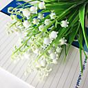 זול פרח מלאכותי-פרחים מלאכותיים 3 ענף מודרני / עכשווי פעמונית פרחים לשולחן