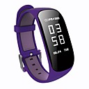 baratos Smartwatches-Pulseira inteligente YYZ17HR para iOS / Android / iPhone Medição de Pressão Sanguínea / Calorias Queimadas / Tora de Exercicio / Pedômetros / Informação Temporizador / Podômetro / Monitor de