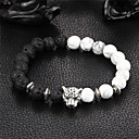 cheap Men's Bracelets-Onyx Strand Bracelet / Bracelet - Natural Bracelet Black For Party / Gift
