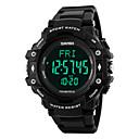 baratos Smartwatches-SKMEI -1180 Relógio inteligente Controlador de Tempo Monitor de Batimento Cardíaco Impermeável Pedômetros Relogio Despertador Suspensão