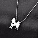 olcso Szintetikus parókák-Kutya Nyaklánc Kutyaruházat Egyszínű Arany Ezüst Króm Jelmez Háziállatok számára Casual/hétköznapi