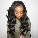 cheap Human Hair Wigs-Human Hair Lace Front Wig Brazilian Hair Deep Wave Wig Layered Haircut with Baby Hair 130% Hair Density Natural Hairline For Black Women 100% Virgin Women's Short Medium Length Long Human Hair Lace