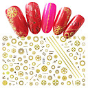 cheap Christmas Nail Art-1 pcs Stickers nail art Manicure Pedicure Fashion Daily