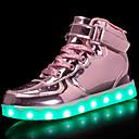 hesapli USB-Genç Kız Ayakkabı Patentli Deri / Kişiselleştirilmiş Malzemeler Sonbahar Rahat / Işıklı Ayakkabılar Spor Ayakkabısı Yürüyüş Bağcıklı /