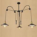 tanie Żyrandole-3 światła Żyrandol Światło rozproszone Malowane wykończenia Metal Styl MIni, Regulowany 110-120V / 220-240V Nie zawiera żarówek / E26 / E27