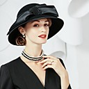preiswerte Wand-Sticker-Wolle / Seide Hüte mit 1 Besondere Anlässe / Party / Abend Kopfschmuck