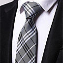 זול אביזרים לגברים-עניבת צווארון - פסים פוליאסטר עבודה בגדי ריקוד גברים