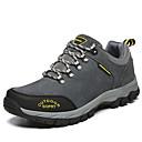 baratos Sapatos Esportivos Masculinos-Homens Camurça Primavera / Outono Conforto Tênis Aventura Antiderrapante Cinzento / Marron / Verde