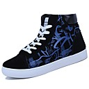 cheap Men's Sneakers-Men's Shoes PU Spring / Fall Comfort Sneakers Null Null Black / White / Black / Red / Black / Blue