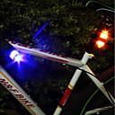 olcso Kerékpár világítás-Kerékpár hátsó lámpa / biztonsági világítás / hátsó lámpák Kerékpár világítás Kerékpározás Vízálló, Hordozható, Professzionális gomb akkumulátor Kempingezés / Túrázás / Barlangászat / Mindennapokra