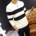 cheap Men's Athletic Shoes-Men's Long Sleeve Sweatshirt - Color Block Round Neck