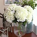 cheap Artificial Flower-Artificial Flowers 1 Branch European Hydrangeas Tabletop Flower