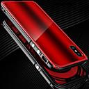 זול מגנים לטלפון & מגני מסך-מגן עבור Apple / iPhone X iPhone X עמיד בזעזועים באמפר אחיד קשיח מתכת ל iPhone X