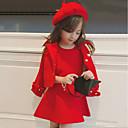 tanie Zestawy ubrań dla dziewczynek-Dla dziewczynek Moda miejska Solidne kolory Długi rękaw Komplet odzieży