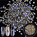 preiswerte Aufkleber für Nägel-1 pcs Glitzer / Verzierungen / Nagelschmuck Strass / Elegant & Luxuriös / Strahlend & Funkelnd Kristall / Luxus / Modisches Design Alltag