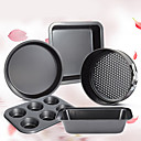 cheap Bakeware-Bakeware tools Stainless Steel Fastness For Cake Circular 5pcs