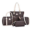 povoljno Komplet torbi-Žene Uzorak / print PU Bag Setovi Kompleti za vrećice 5 kom Sky blue / purpurna boja / Blushing Pink