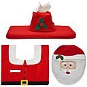 olcso Karácsonyi dekoráció-Ünnepi Dekoráció Santa Karácsony szőnyegek Ajándék címkék Karácsony Parti Piros