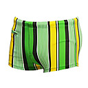 cheap Athletic Swimwear-Men's Swim Shorts Chlorine resistance Nylon / Spandex Swimwear Beach Wear Board Shorts Stripe Swimming / Surfing
