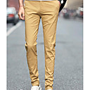 cheap Men's Athletic Shoes-Men's Basic Slim Chinos Pants - Solid Colored