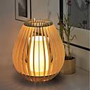 billige Bordlamper-Rustikk / Hytte Kunstnerisk Enkel Land Traditionel / Klassisk Mini Stil Øyebeskyttelse Bordlampe Til Tre / Bambus 220V