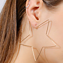 cheap Earrings-Women's Drop Earrings Star Ladies Simple European Fashion Earrings Jewelry Gold / Silver For Bar